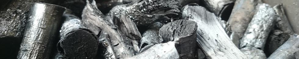 biochar close-up